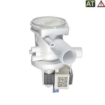 Europart 141326 Pompe de vidange pour machine à laver Hanning, Balay, Bosch, Siemens, Constructa, Neff et Küppersbusch 30 W