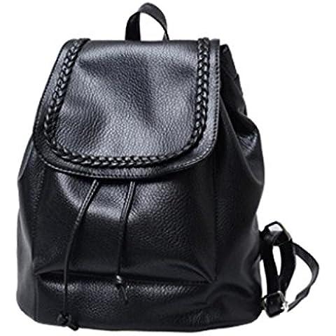 Clode® Las mujeres Mochila viaje cuero bolso mochila hombro bolso mochilas