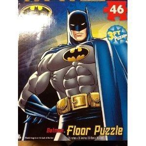 BATMAN My Size FLOOR Puzzle XL 46 PIECES (3 feet length - 24 x 36) by Cardinal Industries
