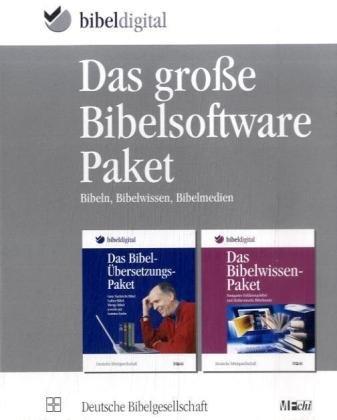 Das große Bibelsoftware-Paket. Windows Vista, XP; 2000: Bibeln, Bibelwissen, Bibelmedien