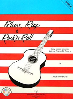 Broekmans en van Poppel Blues Rags and Rock'n'Roll +CD - Joep Wanders