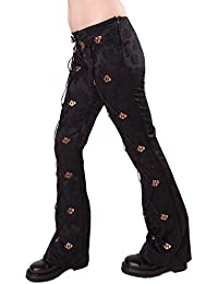 Aderlass Steampunk Pants Brocade SALE Black