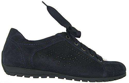Semler Y1066-040-074 Yvette donna Sneaker larghezza G Blu