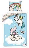 Halantex 2 TLG Kinderbettwäsche 100x135 40x60 NICI Bettwäsche Babybettwäsche
