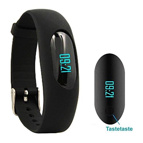 Willful Fitness Armband Schrittzähler Uhr Ohne Bluetooth Fitness Tracker Aktivitätstracker mit Schlafüberwachung, Kalorienzähler, Entfernung für Damen Herren Outdoor-Rennen Gehen (Ohne APP - ändern Die Sie Das Datum Und Uhrzeit