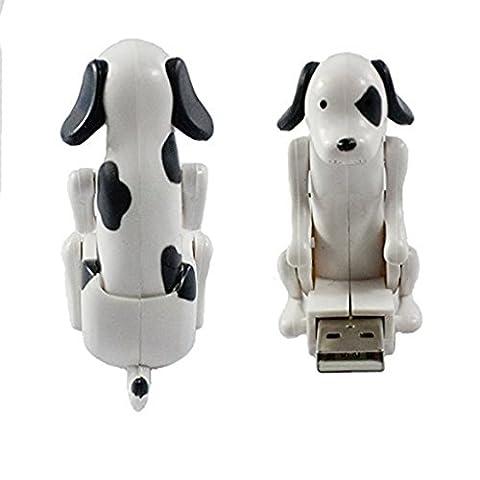 E.life USB-Stick 2.0, 4GB, Festplatte, mit Motiv bumsender Hund, automatisch, pfiffiges Geschenk für Weihnachten, (4g Datenträger)