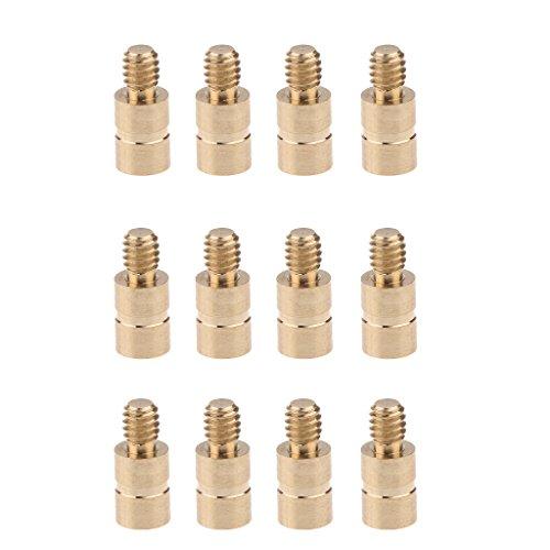 Sharplace Pfeil Dart Pfeil Einsatz Gewichte Schrauben (12 Stück Packung) - 25 Grains