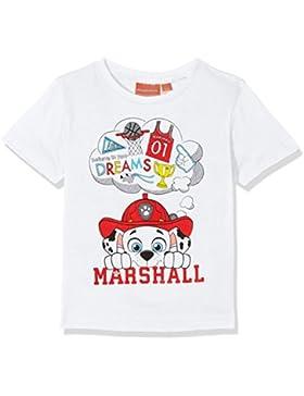 Nickelodeon Paw Patrol Heads, Camiseta para Niños