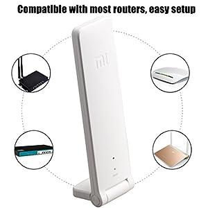 Kismaple TELLO WiFi Extender, Universal Wi-Fi Extender 300Mbps 802.11n Wireless WIFI Signal Extender Signal Booster for DJI Tello Drone