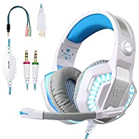 BlueFire Auriculares Gaming PS4, 3.5mm Cancelac...