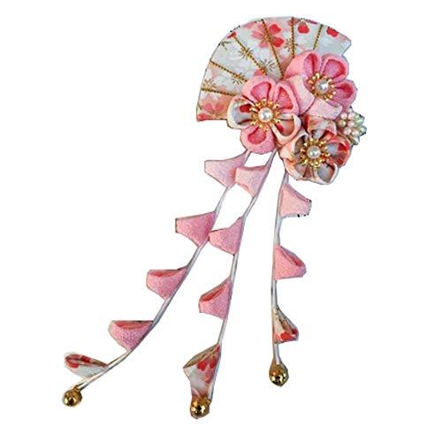 Fancy Pumpkin Estilo japonés hecho mano Sakura Fan