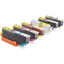 Inkadoo® Tinte passend für Epson Expression Photo XP-760 ersetzt Epson 24, 24XLC 13 T 24314010, C13T24314010 - C13T24344010, T 243140 (alle Farben)