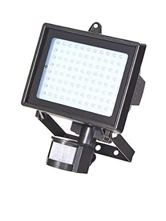 Projecteur à LED avec détecteur de mouvements 96 LED 600 Lumen TÜV sécurité côntrolée