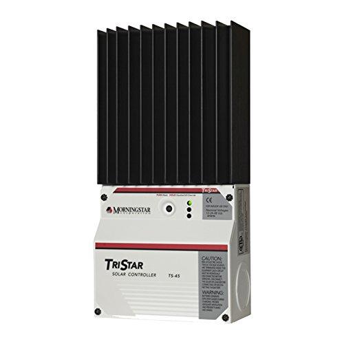 Morningstar Tristar 45A PWM Solar/Wind Controller für Wohnwagen, Wohnmobile, Boote und Yachten Morning Star Solar Controller