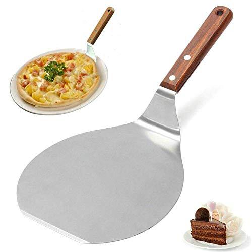 Lumon Edelstahl Pizza Spachtel, Pie Kuchen Schaufel, Kuchen Backen Werkzeug für Heimküche Bäcker -