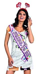 Boland 84248 - fotorrealista vestido Bachelorette, disfraces para adultos