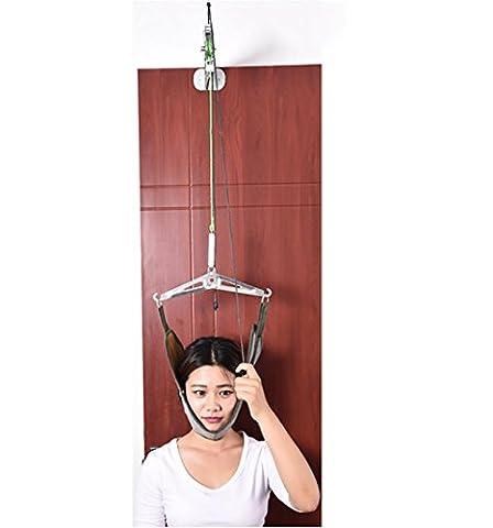 D&F Cervical Traction Device, üBer Die TüR Hals TraktionsgeräT, Schmerzlinderung, Gegen Nackenschmerzen Und Spannungsbedingte Kopfschmerzen