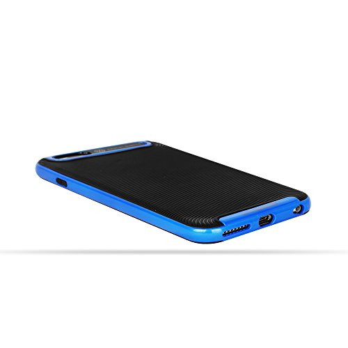 OKCS® Coque - Apple iPhone 6, 6s Etui Housse de Protection Armor Case Protector Cover Bumper - Bleu Bleu
