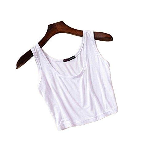 JaneDream New Yoga Fitness Gym Waistcoat Croptops Style Cool Strap Vest for Women