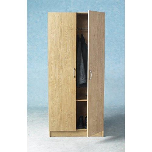 Bellingham Beech 2 Door Wardrobe