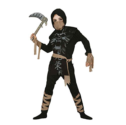 Guirca Kostüm Ninja Skelett (Ninja Kostüm Skelett)