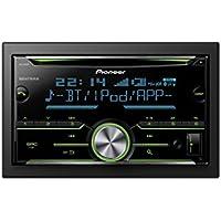 Pioneer FH-X730BT Autoradio mit CD und Bluetooth 2DIN schwarz