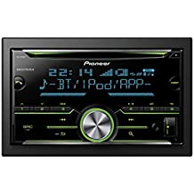 Pioneer FH-X730BT - Sintonizador de CD doble (pantalla LCD, Bluetooth, MIXTRAX, USB), negro