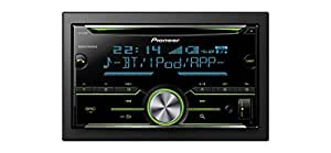 Pioneer FH-X730BT Bluetooth Black car media receiver - car media receivers (4.0 channels, MOSFET, 1.5 lines, LCD, Multi, Black)