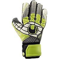 uhlsport Eliminator Super Graphit gloves, Unisex, Handschuhe ELIMINATOR SUPER GRAPHIT, Schwarz/Grün/Weiß