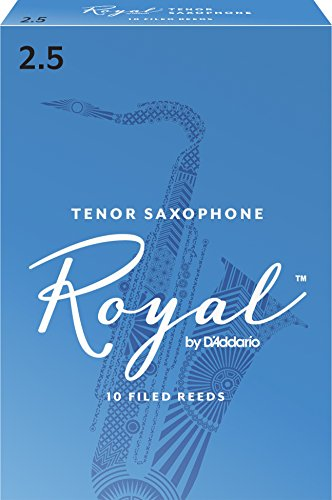 Royal Blätter für Tenorsaxophon Stärke 2.5 (10 Stück)