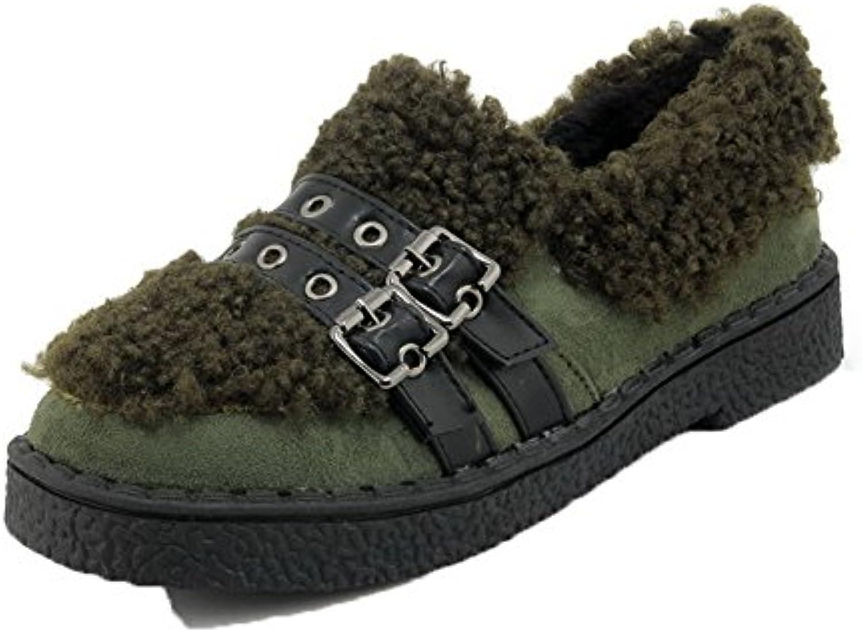 des est femmes est des faible allhqfashion talons de chaussures solides chaussures de daim ou fbudd011301 cycle fermé, 6d512b