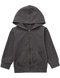 Hawkimin Kinder Kinder Jungen Mädchen Lange Ärmel Mit Kapuze Sweatshirt Top Kleidung Pullover