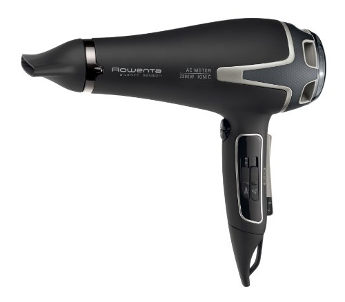 Rowenta CV7630E0 Silence AC Sensor Asciugacapelli con Diffusore e Generatore di Ioni, Silenzioso, Efficiente