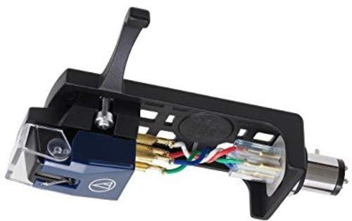 Audio-Technica VM520EB Plattenspieler mit Ellipsenbindung VM520EB/H Combo Kit schwarz