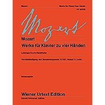 Werke für Klavier zu vier Händen: Nach den Quellen herausgegeben.. Klavier 4-händig. (Wiener Urtext Edition)