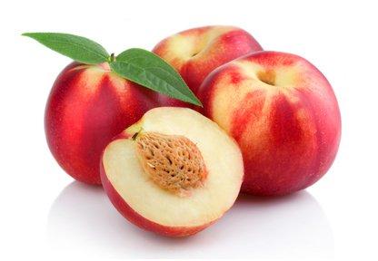 Fruchtknall Nektarine weißfleischig