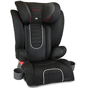 diono monterey 2 group 2 3 highback booster car seat black baby. Black Bedroom Furniture Sets. Home Design Ideas