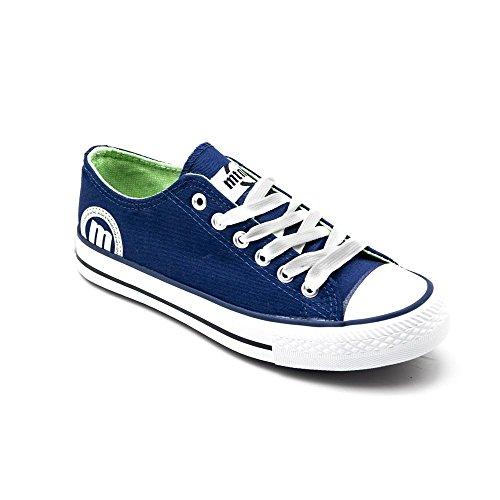 MTNG emi, Zapatillas de Deporte para Mujer, Azul (Canvas Marino), 40 EU