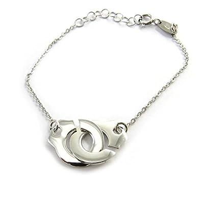 Bracelet menottes en argent 925