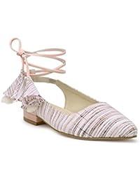 KANABIS Flat Lace-up Ballerinas - Two Way