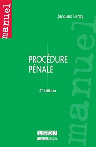 Procdure pnale, 4me Ed.
