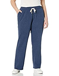 Amazon Essentials Plus Size French Terry Fleece Sweatpant - Athletic-Pants Mujer