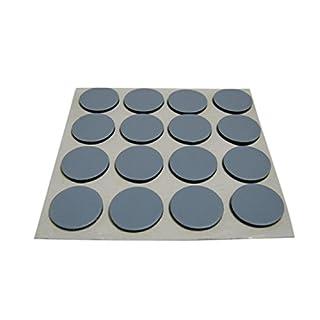 16 x Möbelgleiter Teflongleiter Supergleiter Teflon Gleiter selbstklebend 17mm SAMWERK®