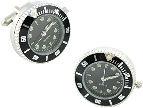 masgemelos-gemelli-orologio-rolex-cufflinks-nero