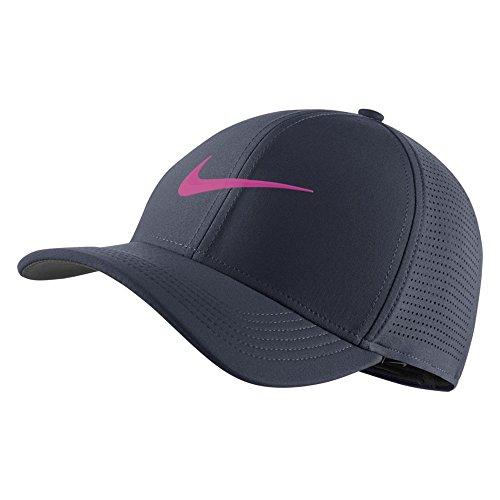 Nike aerobill Classic 99Performance Golf Gap 2018, Herren, Thunder Blue/Anthracite/Hyper Magenta, Small/Medium Nike Classic Cap