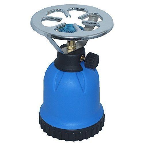 Rsonic Gaskocher C190 Blau • Blue Portable mini Camping kocher • Campingkocher ideal zum Kochen Essen oder Wasser aufwärmen oder für Shisha Naturkohlen geeignet