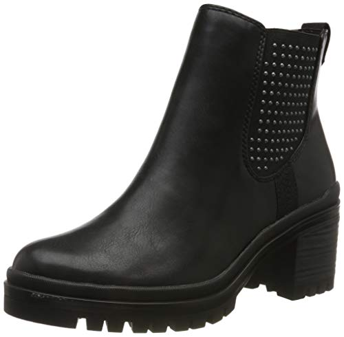 Tamaris Damen 1-1-25428-23 Chelsea Boots, Schwarz (Black 1), 37 EU