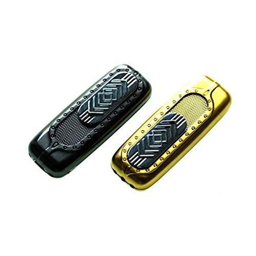 -WELTNEUHEIT- Designer USB Feuerzeug: Gl&uumlhspirale, ben&oumltigt kein Gas und kein Benzin, wird durch USB aufgeladen in Gold (Silber)