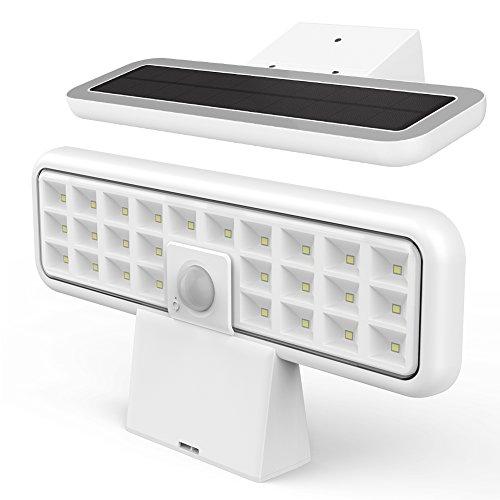 Solar Sensor Licht, Eleganted 26 LED wasserdichte Sicherheitslicht mit Bewegungssensor, 360 ° Bewegungsmelder, 2 Modi für Terrasse Yard Garten Rasen Tür Treppe Auffahrt Garage Veranda - Sensor Garage Licht