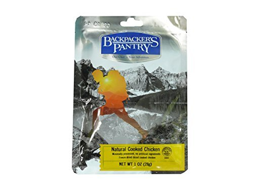 Backpacker's Pantry Freeze-Dried Cooked Chicken, 1 Ounce by Backpacker's Pantry